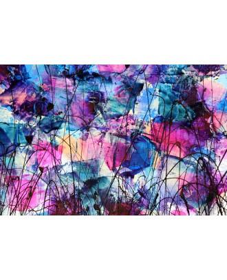 flowers in blu