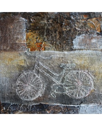 bike and fabric